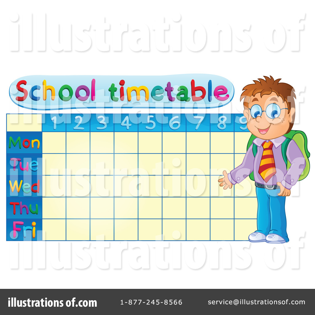 Time Table Clipart #1204077.