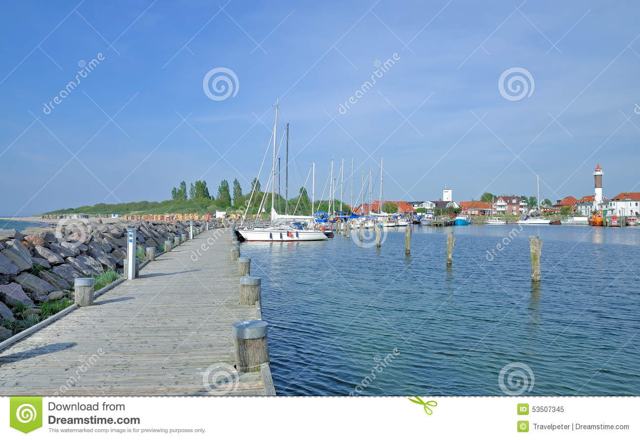 Timmendorf,Poel Island,baltic Sea,Germany Stock Photo.