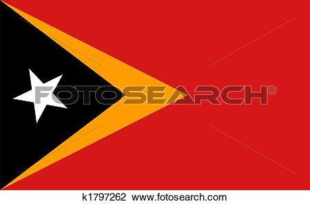 Clip Art of Democratic Republic of Timor.