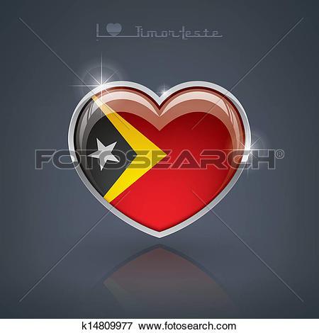 Clip Art of Timor.