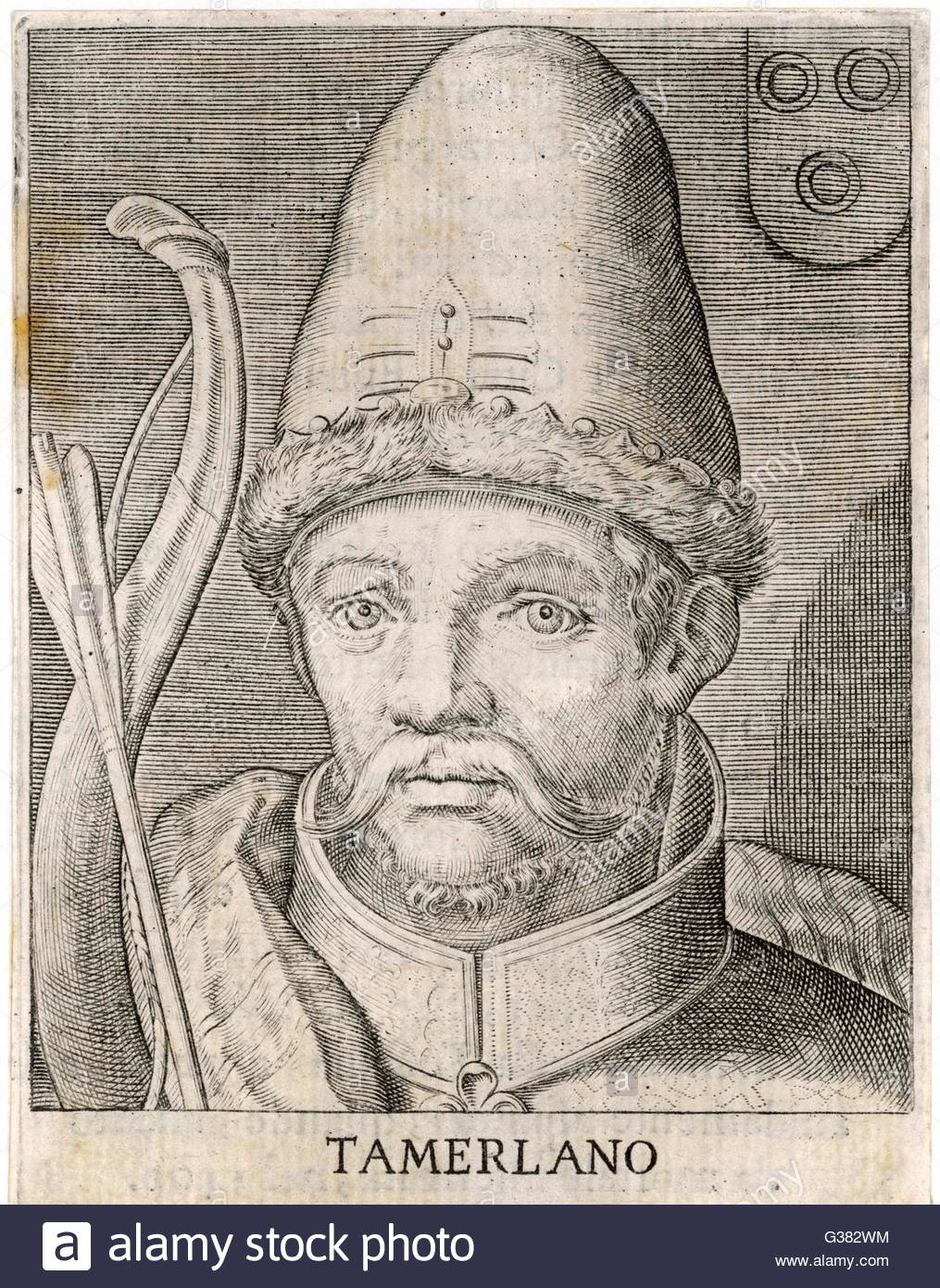 TIMUR LENK (variously spelt as Tamerlane, Tamburlaine etc) Asiatic.