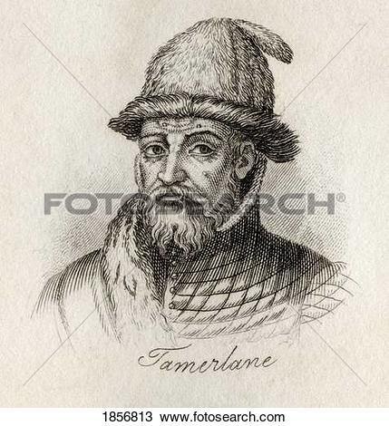 Stock Photo of Tamerlane, 1336.
