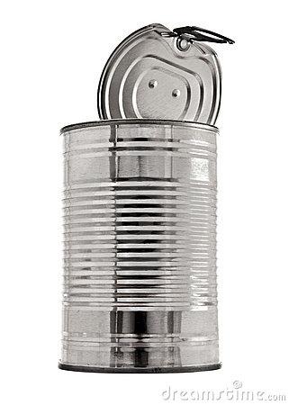 Clipart tin can.