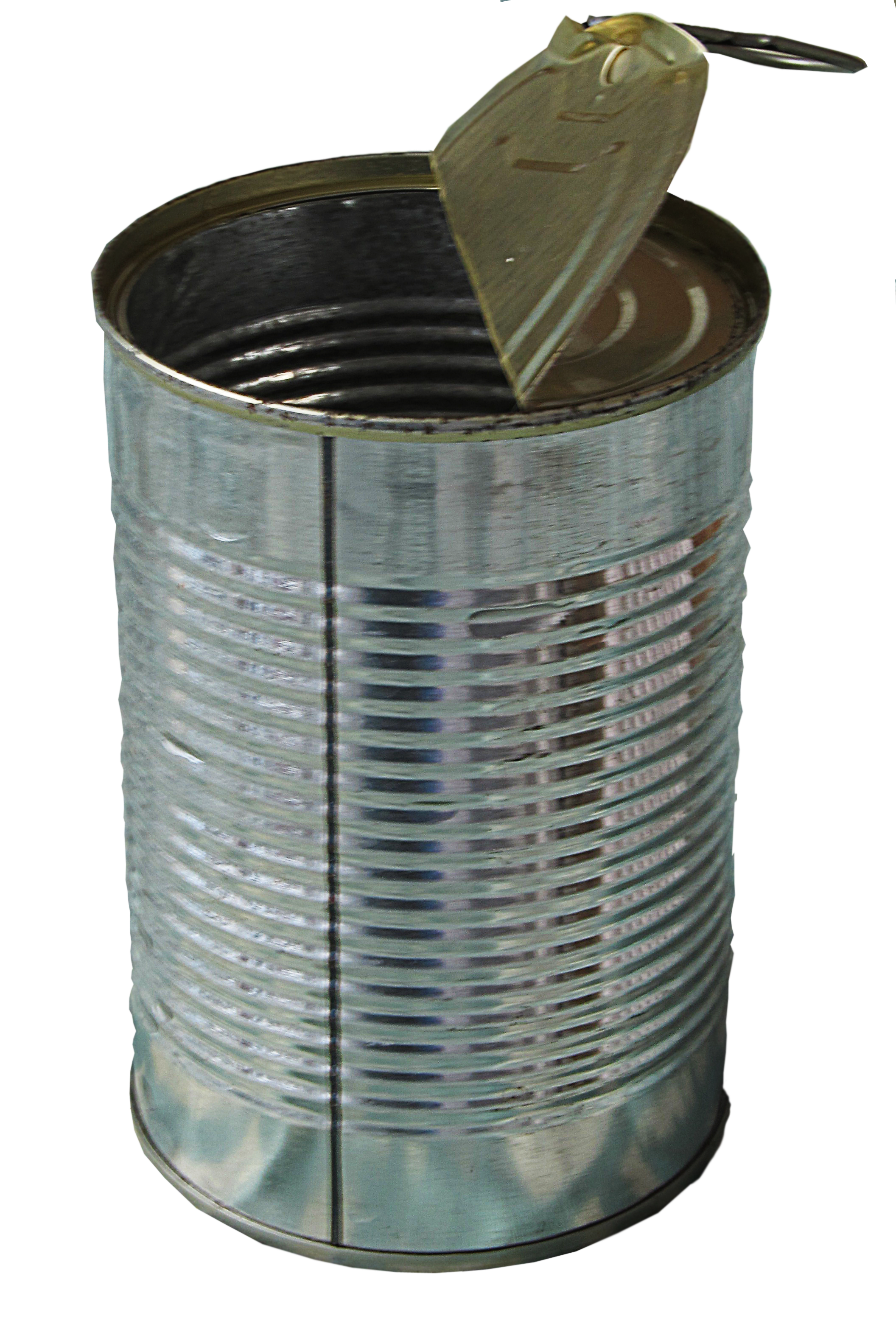 Tin Can Clipart.