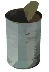 Tin Can Png By Amalus D K Qd Clip Art at Clker.com.