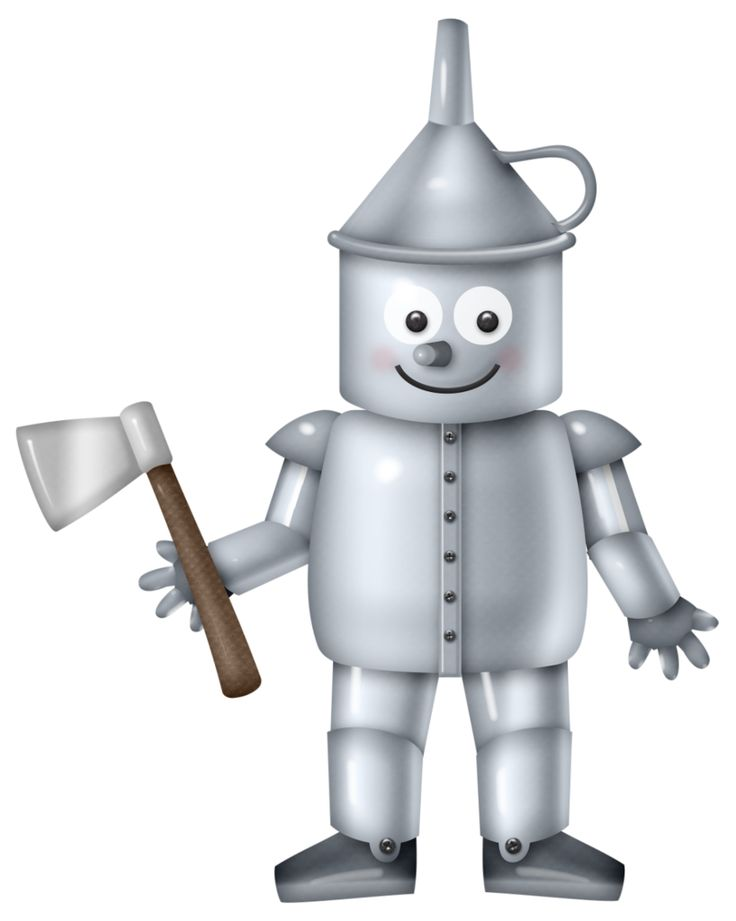 Tin Man Clipart.
