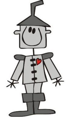 Tin man heart clipart.