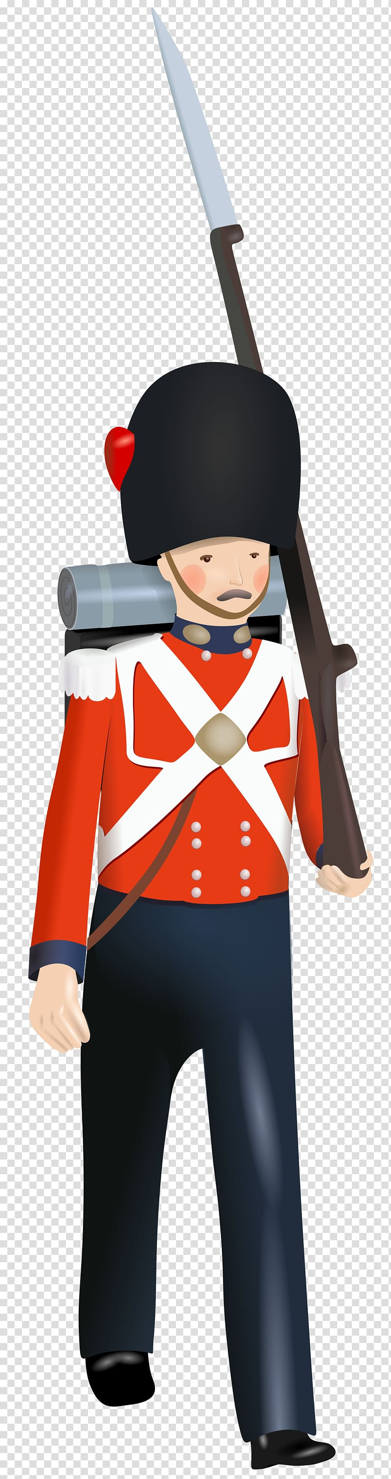 Toy soldier Tin soldier, english transparent background PNG.
