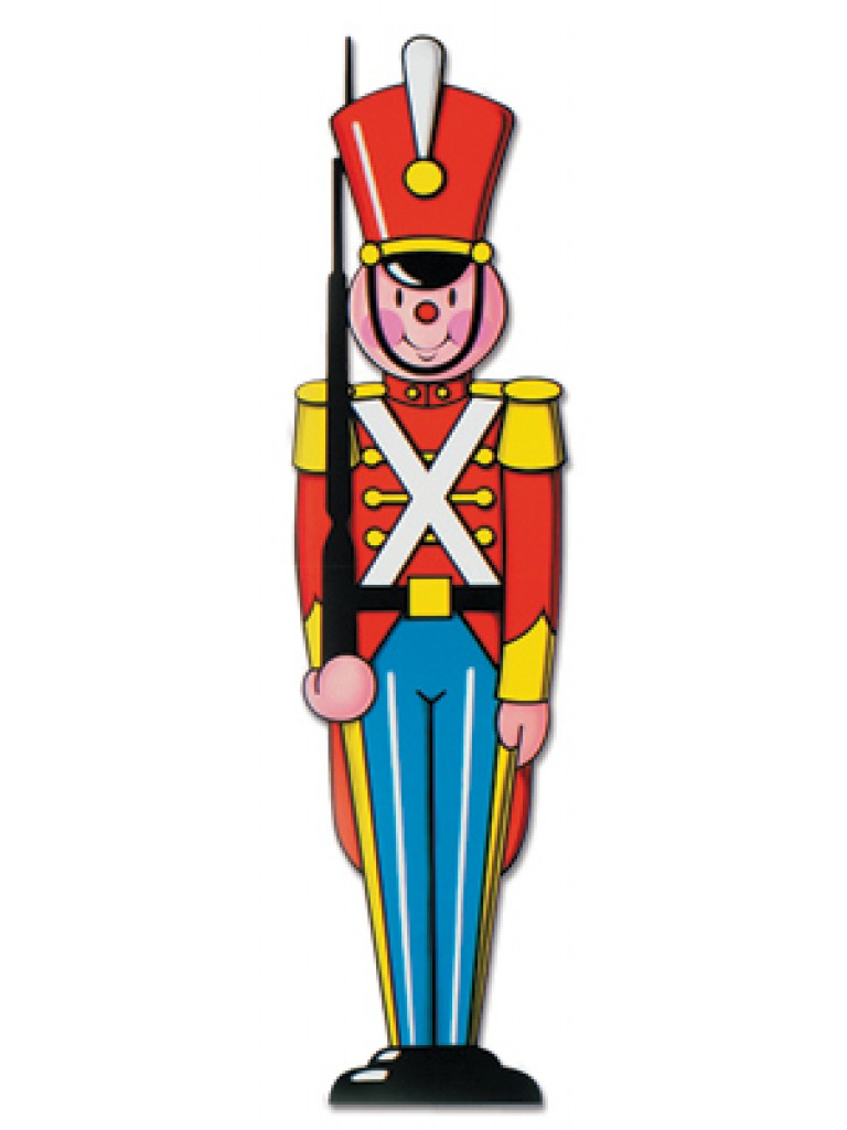 Tin Soldier Clipart.