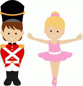 tin soldier & ballerina.
