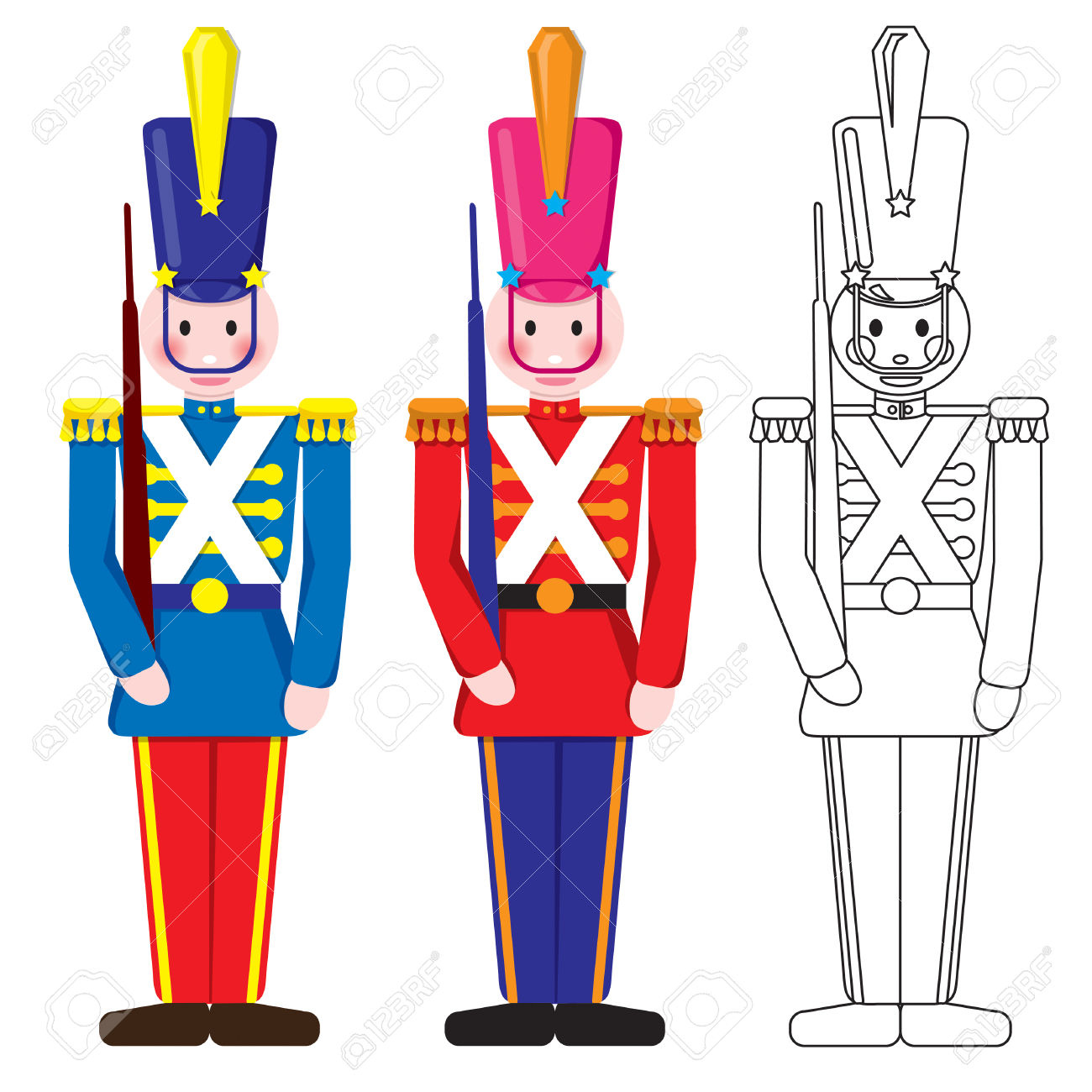 1,356 Toy Soldiers Stock Vector Illustration And Royalty Free Toy.