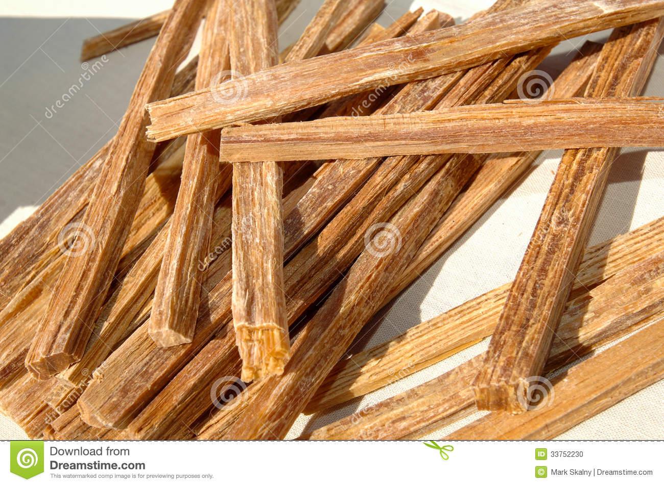 Tinder Wood Stock Photo.