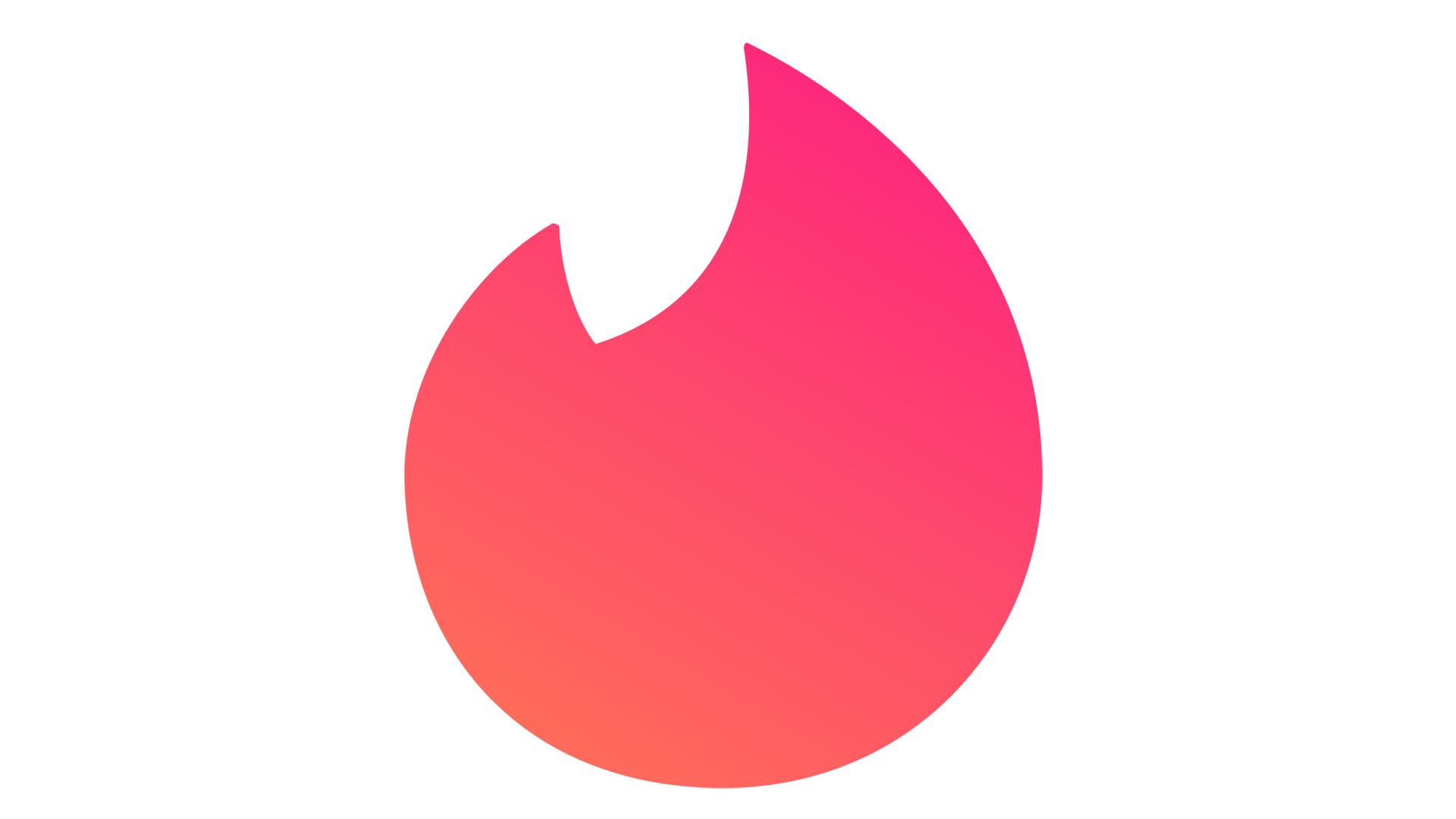 Meaning Tinder logo and symbol.