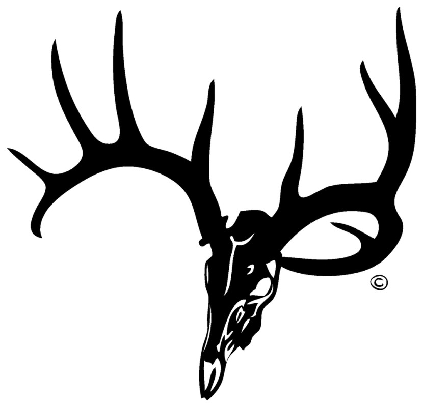 Best Deer Skull Clip Art #14211.