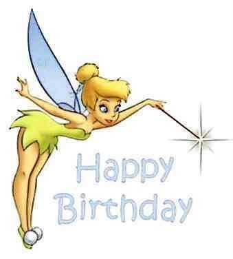 Tinkerbell Happy Birthday!.