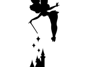 Free Tinkerbell Clipart Black And White, Download Free Clip.
