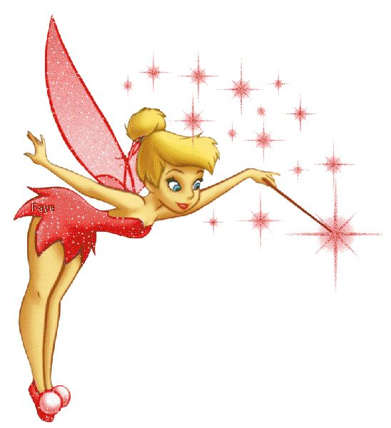 Christmas Tinkerbell Clipart.