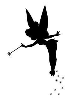 2524 Tinkerbell free clipart.
