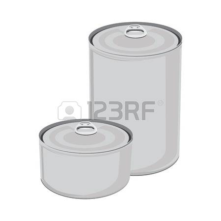 Canned Food Clip Art.