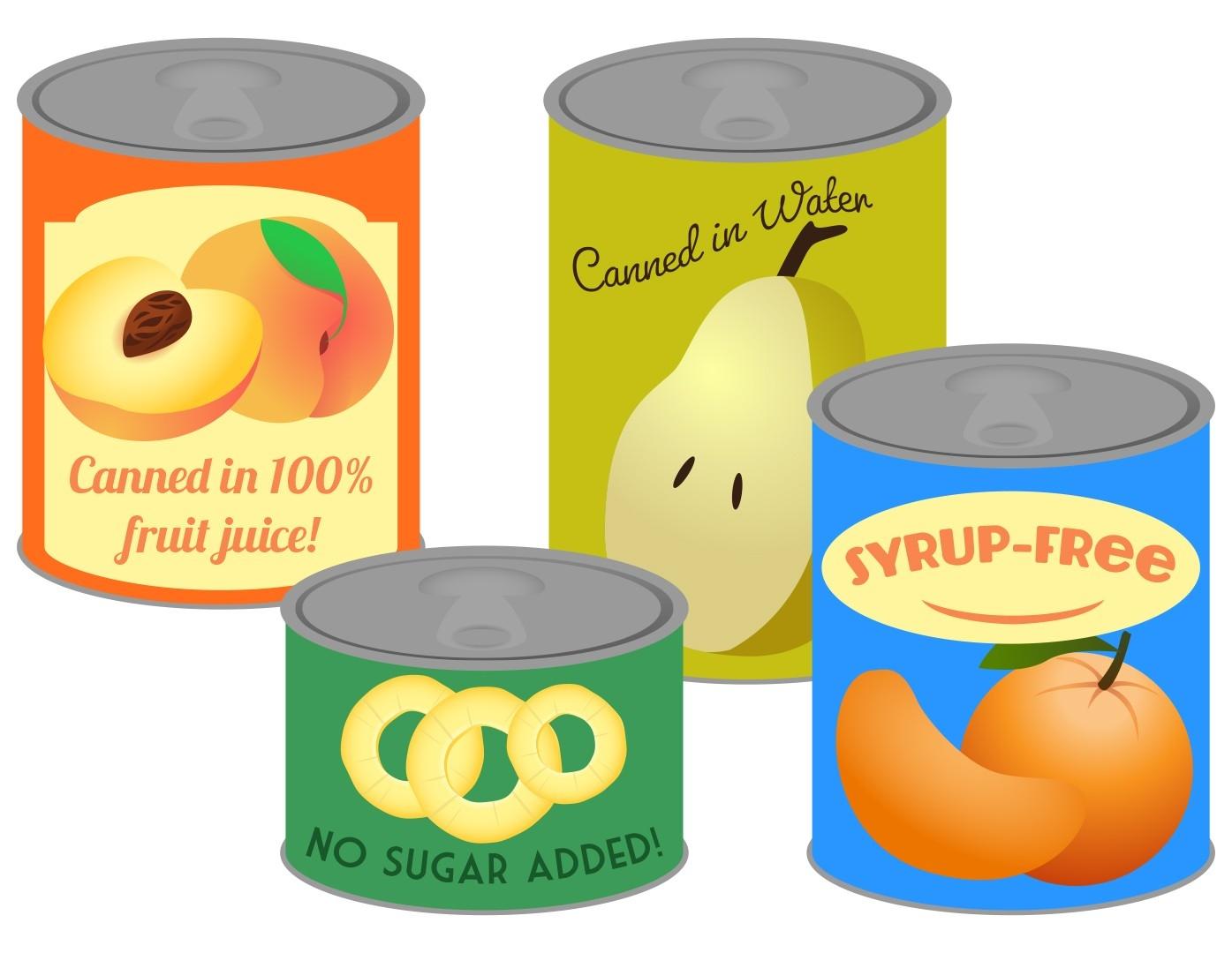 Similiar Canned Fruit Clip Art Keywords.