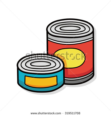 Canned Food Clipart Images.