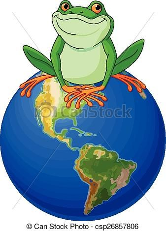Frog globe Clipart Vector and Illustration. 21 Frog globe clip art.