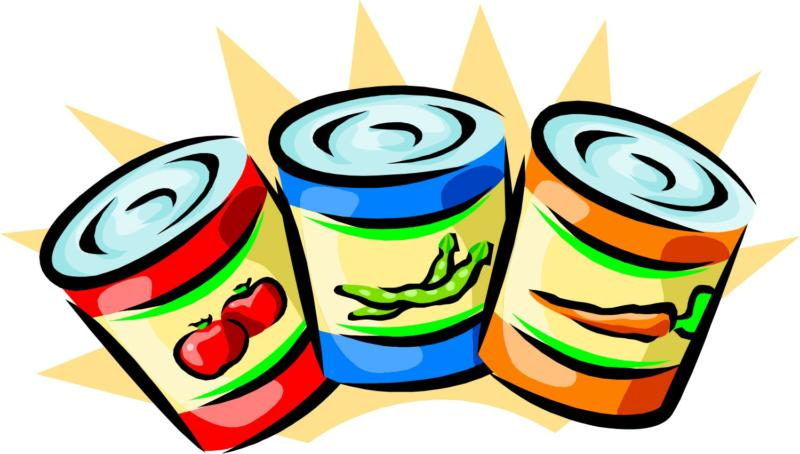 Tins Of Food Clipart.