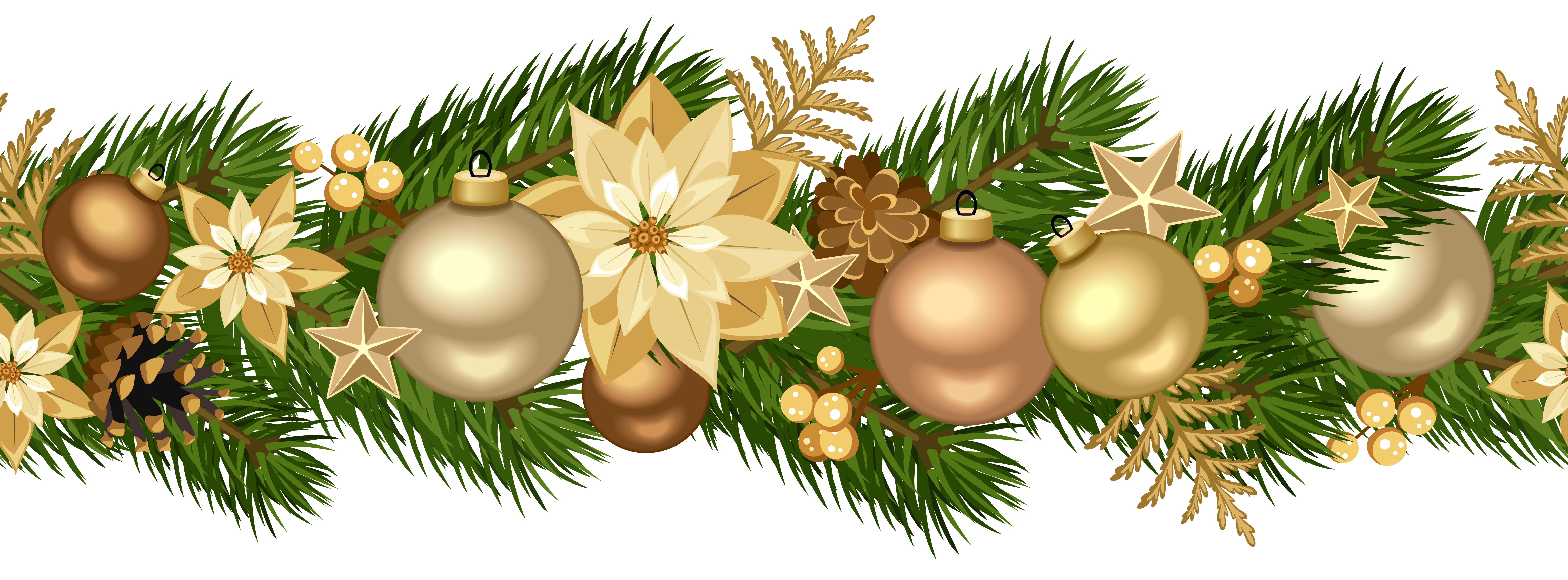 Christmas ornament Garland Christmas decoration Tinsel.