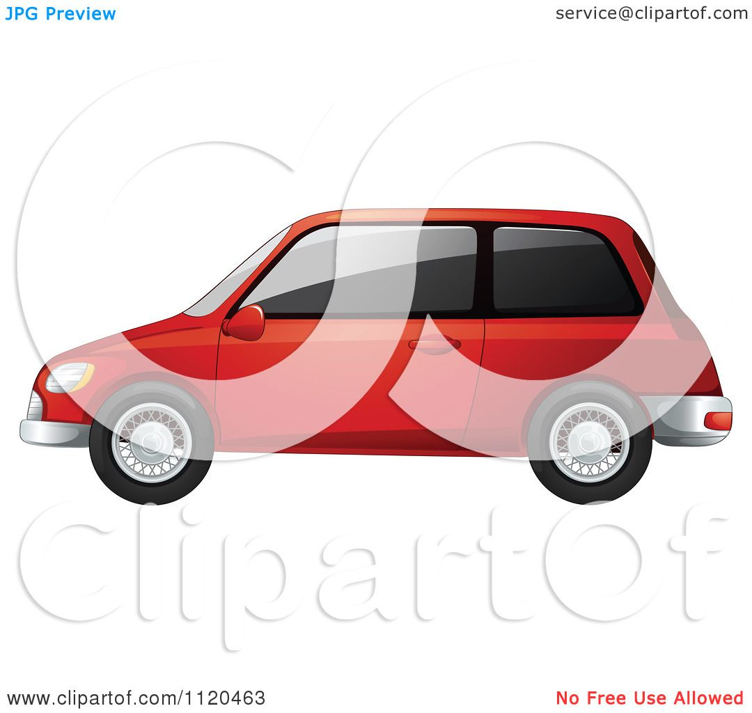 Tinted Car Clip Art.