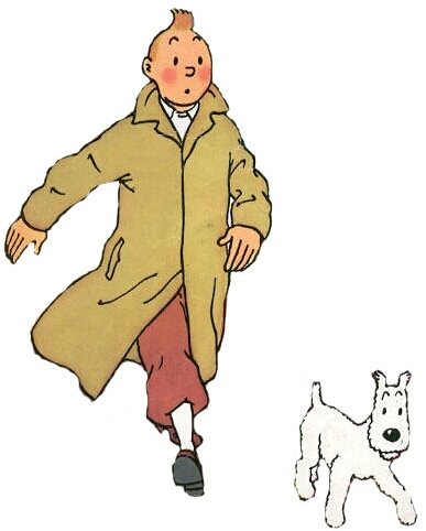 All Cliparts: Tintin Clipart.