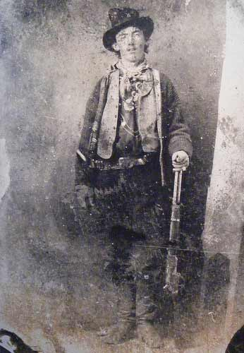 Tintype Of Billy The Kid.
