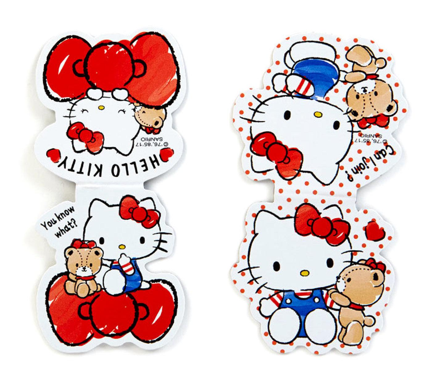 Hello Kitty Tiny Chum Bookmarks: Magnetic.