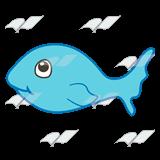 Small Fish Clip Art.