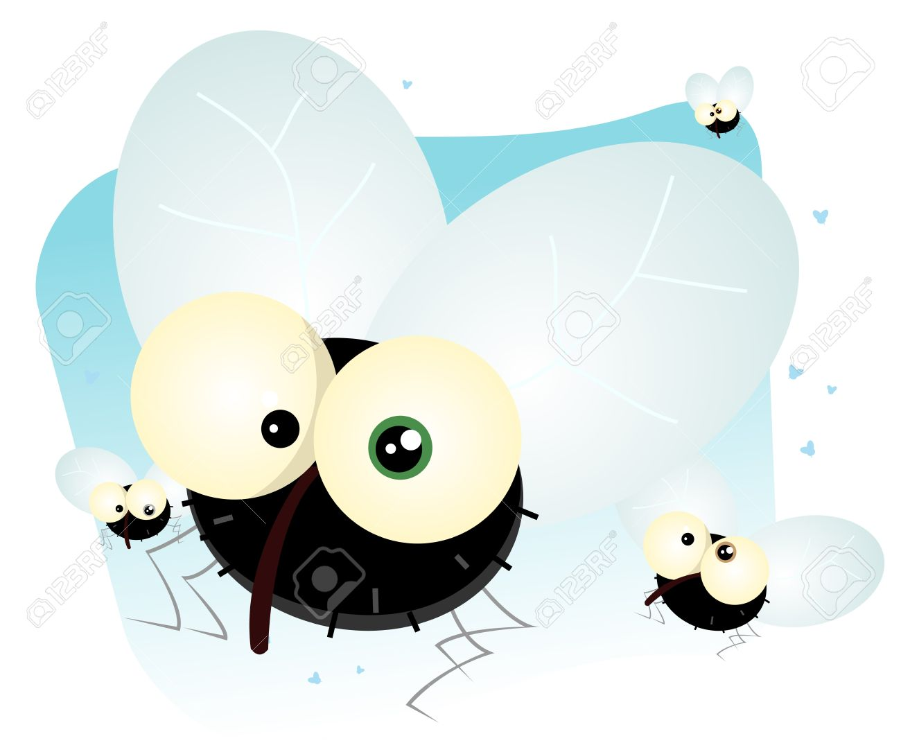 Showing post & media for Cartoon fly swarm.