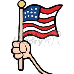 Tiny Us Flag Clipart.