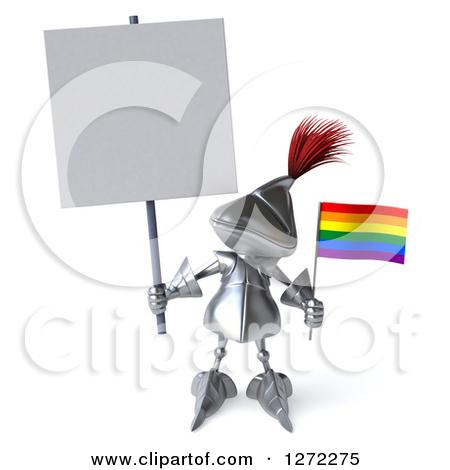 Tiny Rainbow Flag Clipart.