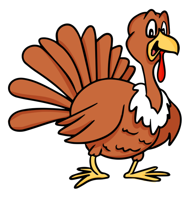 Thanksgiving turkey free to use cliparts.