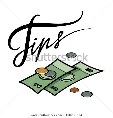 Money Tip Clipart.