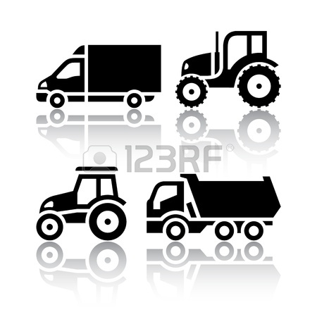 Set Of Transport Icons.