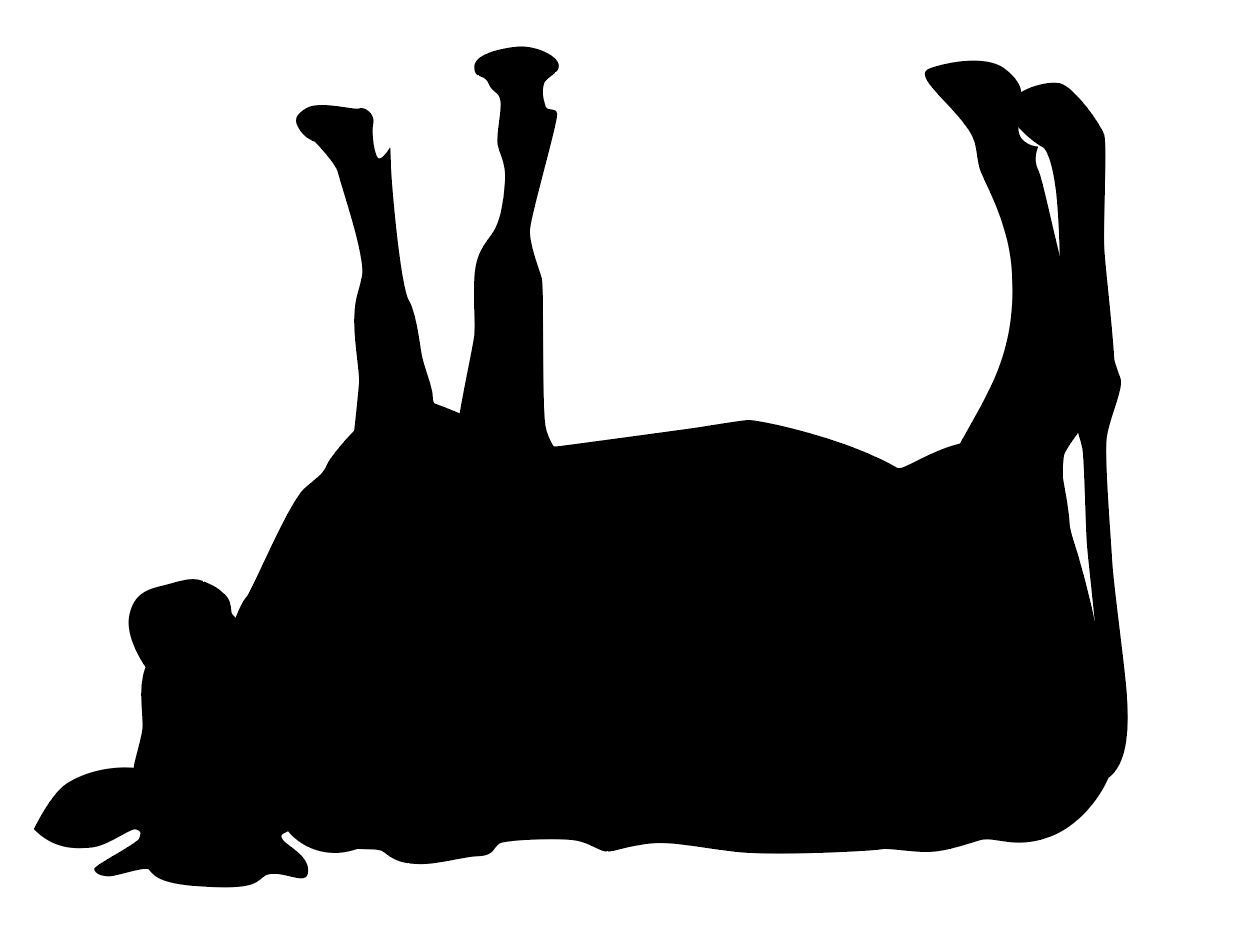Cow Tipping Clipart.