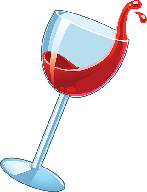 Glass Of Wine Clipart.