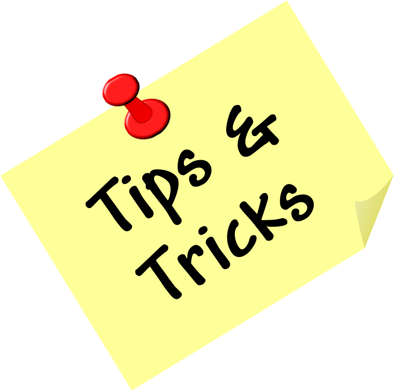 Download Free png Tips and Tricks.