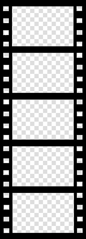 Film strips tiras de peliculas, movie film illustration.
