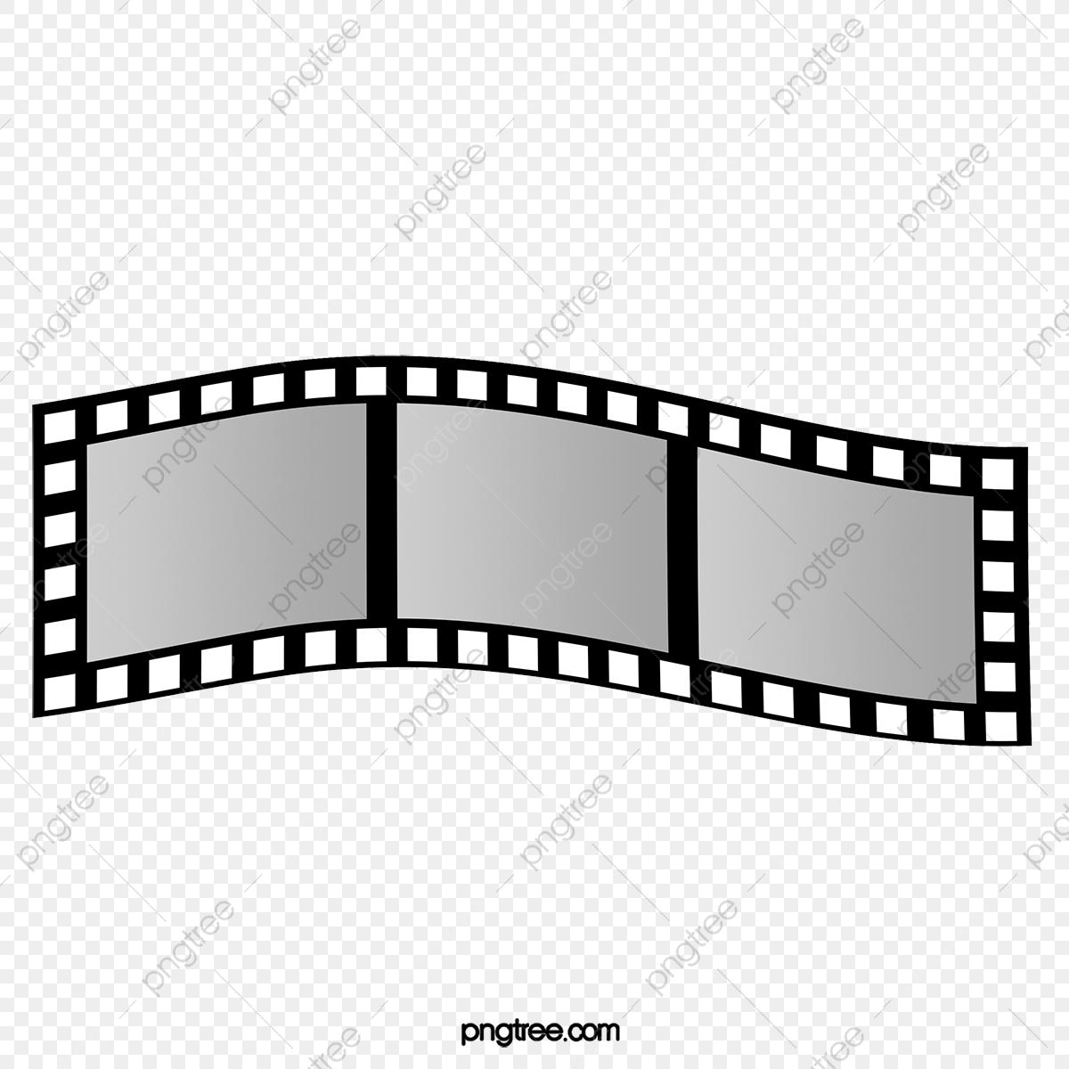 Video, Tira De Película, Elementos De Pelicula, Retro.