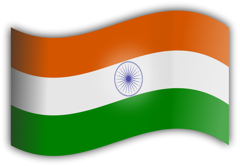 Free Clipart: Indian Flag.