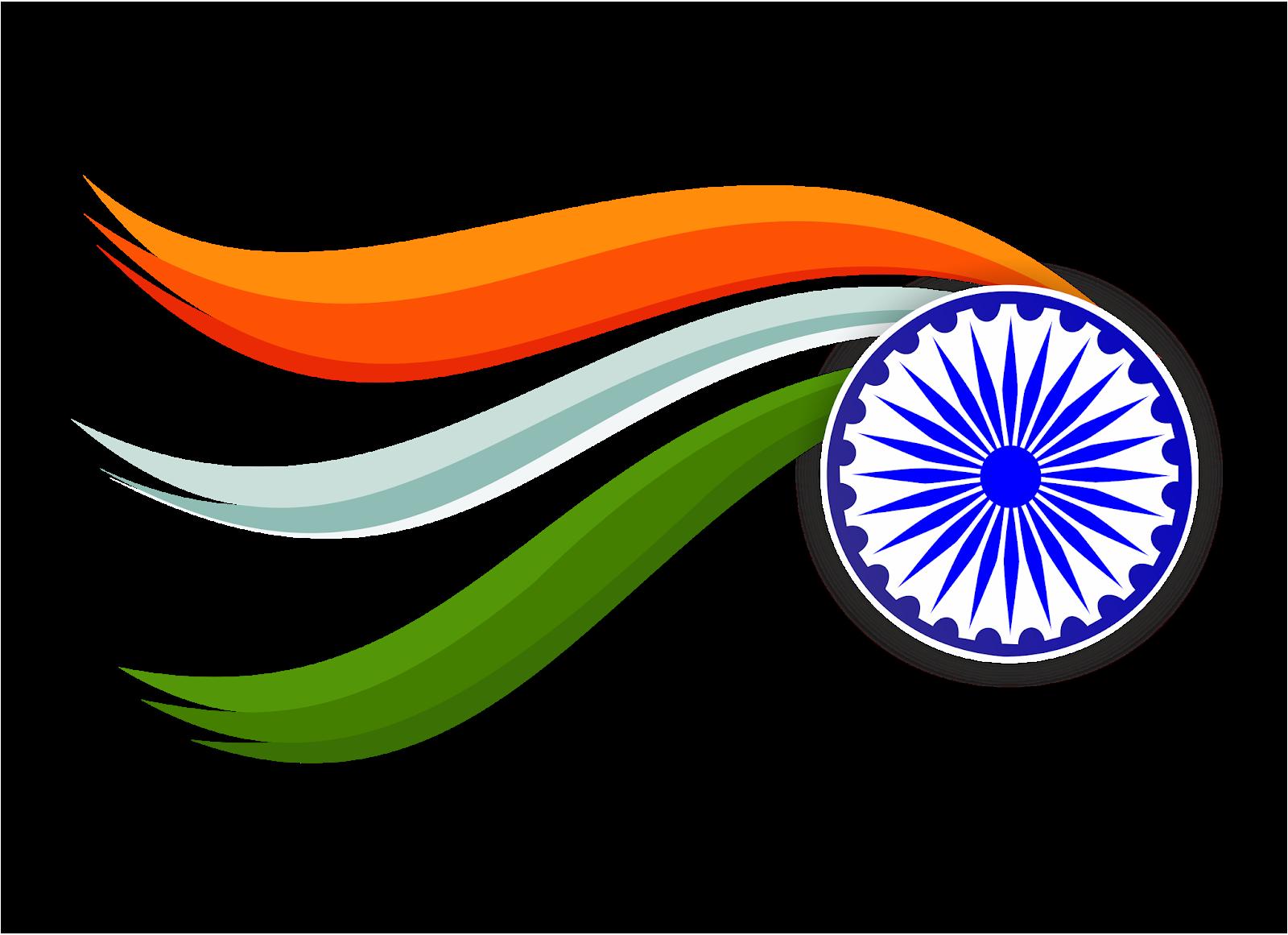 FREE DOWNLOAD DESIGN : TIRANGA INDIAN FLAG IN PNG FILE.