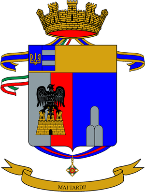 """Battaglione alpini """"Tirano""""."""