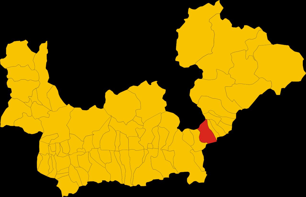 File:Map of comune of Tirano (province of Sondrio, region Lombardy.