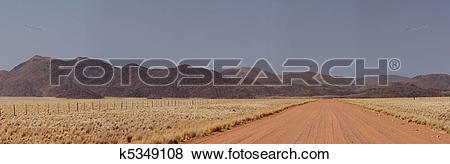 Pictures of Panorama of the Tiras Mountains in Namibia k5349108.