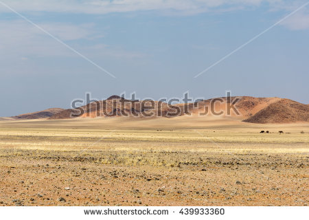 Namibian Hills Stock Photos, Royalty.